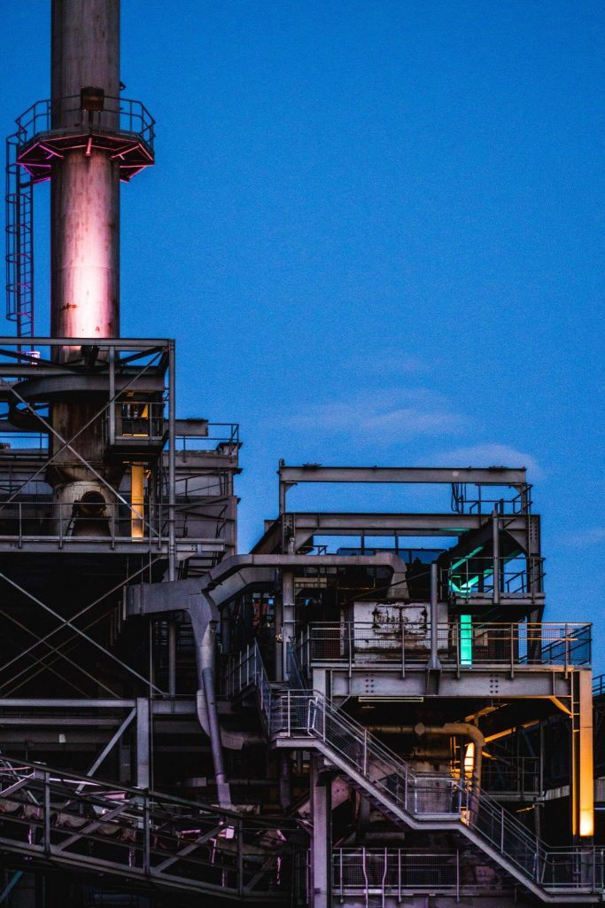 Metallurgical factory, Czech republic