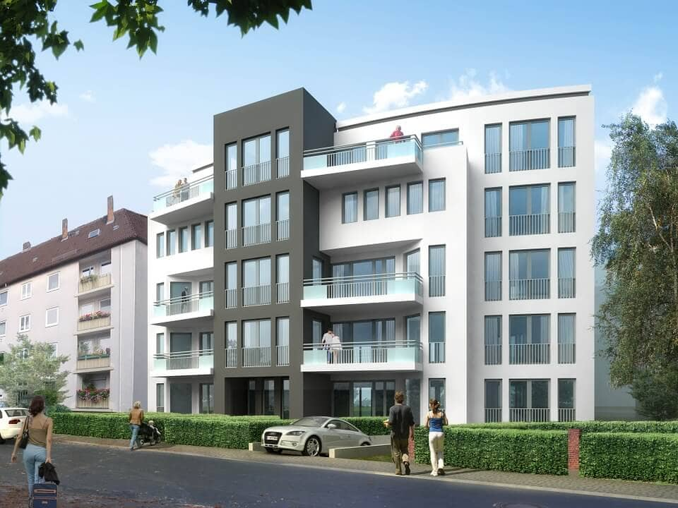 Development project, apartment buildings