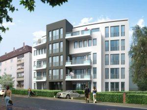 Residential development project, Prague 7